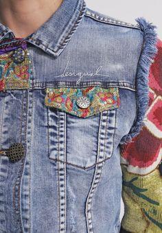 personnaliser veste en jean femme