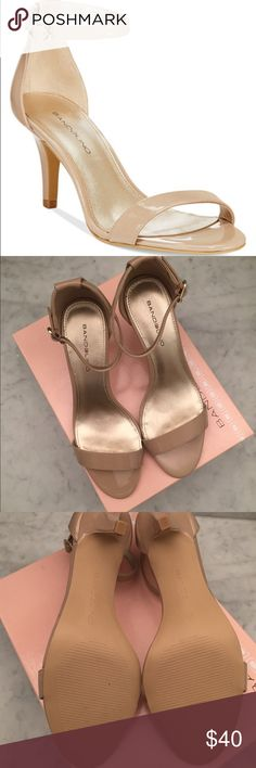 Bandolino Strappy Nude Heels A brand new, never worn pair of quintessential strappy heels in a versatile nude color. A must have for any closet! Brand new in box (no tags, just a box!). Bandolino Shoes Heels