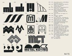 Eric Carl Collection of vintage logos from a edition of the book World of Logotypes jpg Logos Badge Design, Icon Design, Logo Branding, Branding Design, Logo Luxury, Logo Minimalista, Brand Symbols, Old Logo, Green Logo