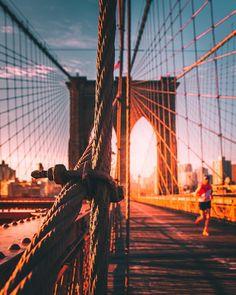 Brooklyn Bridge by - New York City Feelings Washington Square Park, City Aesthetic, Nyc, Famous Landmarks, Dream City, City Photography, Adventure Is Out There, Brooklyn Bridge, Places To Travel