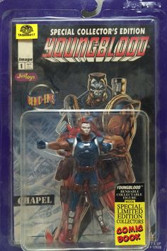 (TAS008417) - Special Collector's Edition Young Blood Figure - Chapel