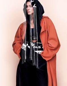 IRINA SHAYK – VOGUE JAPAN MARCH 2017