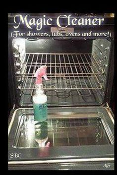 how ??     2 oz. Dawn,   4 oz. bottled Lemon Juice,   8 oz. White Vinegar,   10 oz. Water.     The secret is to spray on surface, let s...