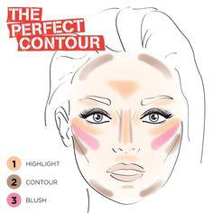 18 Easy To Do Basic Contour Makeup Tutor. - 18 Easy To Do Basic Contour Makeup Tutorials - Makeup Trends, Makeup 101, Makeup Guide, Free Makeup, Easy Makeup, Makeup Ideas, Makeup Hacks, Makeup Goals, Rimmel Makeup