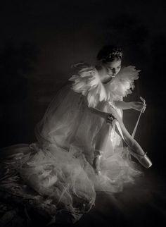 Ballerina in the dark by Simon Sun