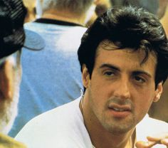 Sly N.B. Famous Men, Famous Faces, Silvestre Stallone, I Movie, Movie Stars, Stallone Rocky, Cinema, Rocky Balboa, The Expendables