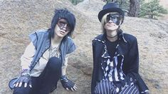 Johnnie Guilbert and Kyle David Hall