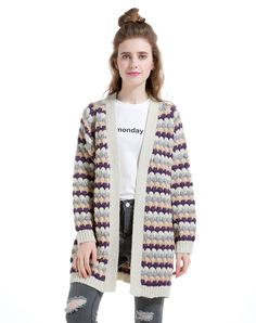 Check the details and price of this Purple Elegant Raglan Sleeve Knitted Wool Blend Cardigan (Purple, SIKYA) and buy it online. VIPme.com offers high-quality Sweaters & Cardigans at affordable price.
