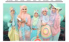 イスラム教徒×日本のロリータ 新スタイル「ムスリムロリータ」が話題   Fashionsnap.com