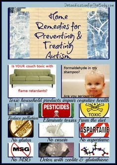 Natural Home Remedies For The Prevention & Treatment of Autism