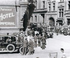 The Imperial Hotel in 1928