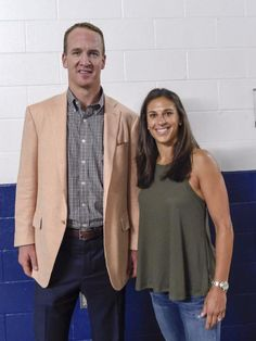 A couple of football MVPs. Peyton Manning and Carli Lloyd.