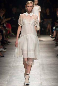 Rochas (SS 2015) #PFW #weddingdresses #vestidodenovia