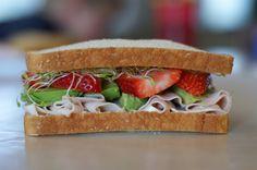 Summer sandwich - looks amazing!