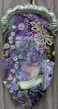 Embroidery Technique Crazy Quilt 5. Comments: LiveInternet - Russian Service Online Diaries