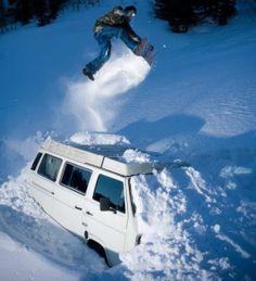 Vanagon - View topic - Vans in the Snow Vw Bus, Volkswagen, Get Outdoors, The Great Outdoors, Vw Vanagon, Ski Socks, Cute Posts, Snow Skiing, Vans