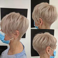 Pixie Haircut For Thick Hair, Short Choppy Hair, Short Sassy Hair, Short Hair Cuts For Women, Short Hair Trends, Short Hair Styles, Short Silver Hair, Modern Short Hairstyles, Crop Hair