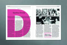Little Atoms: we speak to the editor of the interview magazine with no puff pieces Newspaper Layout, Newspaper Design, Booklet Design, Brochure Design, Layout Design, Print Design, Web Layout, Design Web, Editorial Layout
