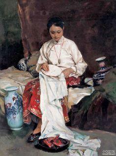 Pan Honghai, Embroideress*