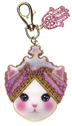Manoush Cat Keychain