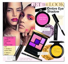 """""""Get the Look: Ombre Eye Shadow"""" by kusja ❤ liked on Polyvore featuring beauty, Armani Beauty, Yves Saint Laurent, By Terry, FACE Stockholm, MAC Cosmetics, Bobbi Brown Cosmetics, L'Oréal Paris, Beauty and makeup"""