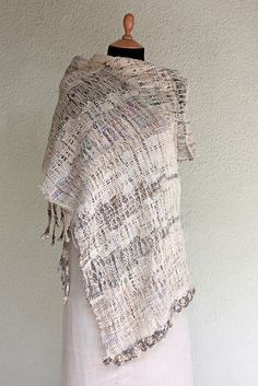 Handwoven summer scarf  __ by rRradionica
