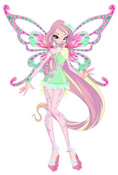 Roxy Tynix 2D (WINGS UPDATED) by Winx-Rainbow-Love.deviantart.com on @DeviantArt