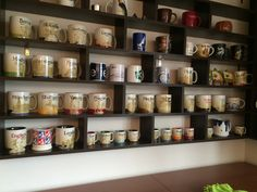 #starbucks collection... There is still room for more!!