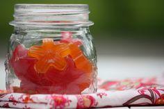 Healthy Sour Gummy Stars (Five Minute Prep)