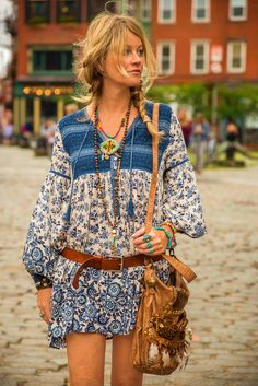 Boho chic in the city
