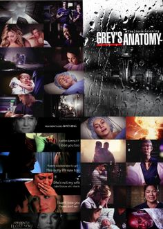 """Grey's Anatomy""""There's an end to every storm. Once all the trees have been uprooted, once all the houses have been ripped apart, the wind will hush. The clouds will part. The rain will stop. The sky will clear in an instant. And only then, in those quiet moments after the storm, do we learn who was strong enough to survive it."""""""