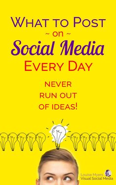 Wondering what to post on #socialmedia? You could be driving leads to your business if you knew what to post! // Louise M