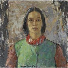 Anne Redpath - Self portrait (Scottish, 1895-1965)