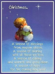 christmas wishes Christmas Season Poem poem christmas christmas quotes christmas images christmas poem Meaning Of Christmas, Merry Little Christmas, Vintage Christmas Cards, Winter Christmas, Blue Christmas, Christmas Carol, Xmas Cards, Holiday Cards, Greeting Cards