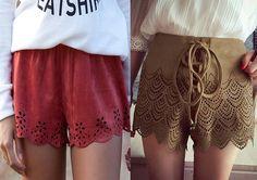 TPM Básica: Shorts Scalloped - ondas na barra