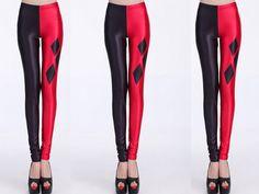Harley Quinn Leggings – Online Legging Store.  Halloween fun