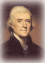 Thomas Jefferson, America's third president and leading political thinker, was born at Shadwell in Albemarle County, Virginia.
