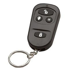2 x Remote Control Keyfobs For Our Infrared Driveway Alarms.