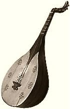Barbat- Ancient Persian string instrument. Also called ood in arabic and lute in english. Ancestor of today's guitar.