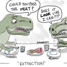 T rex humor
