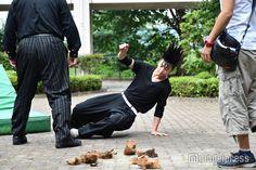 柾木玲弥、衝撃の坊主頭に 「今日から俺は!!」6話メイキング - モデルプレス Parachute Pants, Harem Pants, Kara