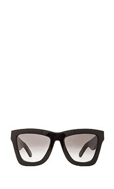 VALLEY EYEWEAR DB in Gloss Black & Black Gradient