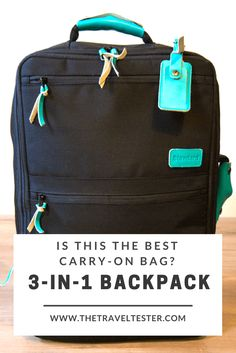Is this travel backpack perhaps the best carry on luggage I've found? Best Travel Bags, Best Travel Backpack, Travel Bags For Women, Travel Tips, Travel Packing, Shopping Travel, Car Travel, Beach Travel, Travel Hacks
