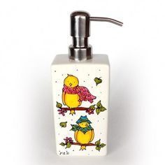 Pottery Painting, Ceramic Painting, Ceramic Pottery, Soap Dispenser, Diy Projects, Glass, Illustration, Lotion, Crafts