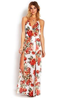 Floral Maxi - Forever 21