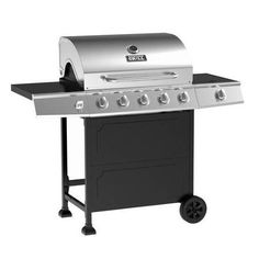 NEW Backyard 5-Burner Stainless Steel Outdoor Propane Gas Grill BBQ Cooking Side #BackyardGrill