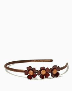 charming charlie | Floral Leather Headband | UPC: 410006534209 #charmingcharlie