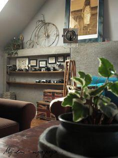loft, rest room, industrial, my home, vintage,