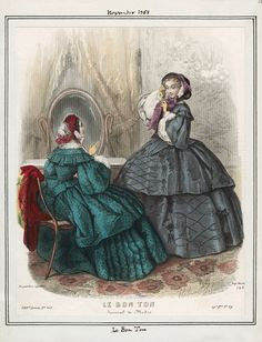 Le Bon Ton November 1858 LAPL