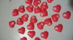 Advent Calendar, Holiday Decor, Biscuit, Country, Mirrors, Red Hearts, Cookie Favors, Rural Area, Advent Calenders